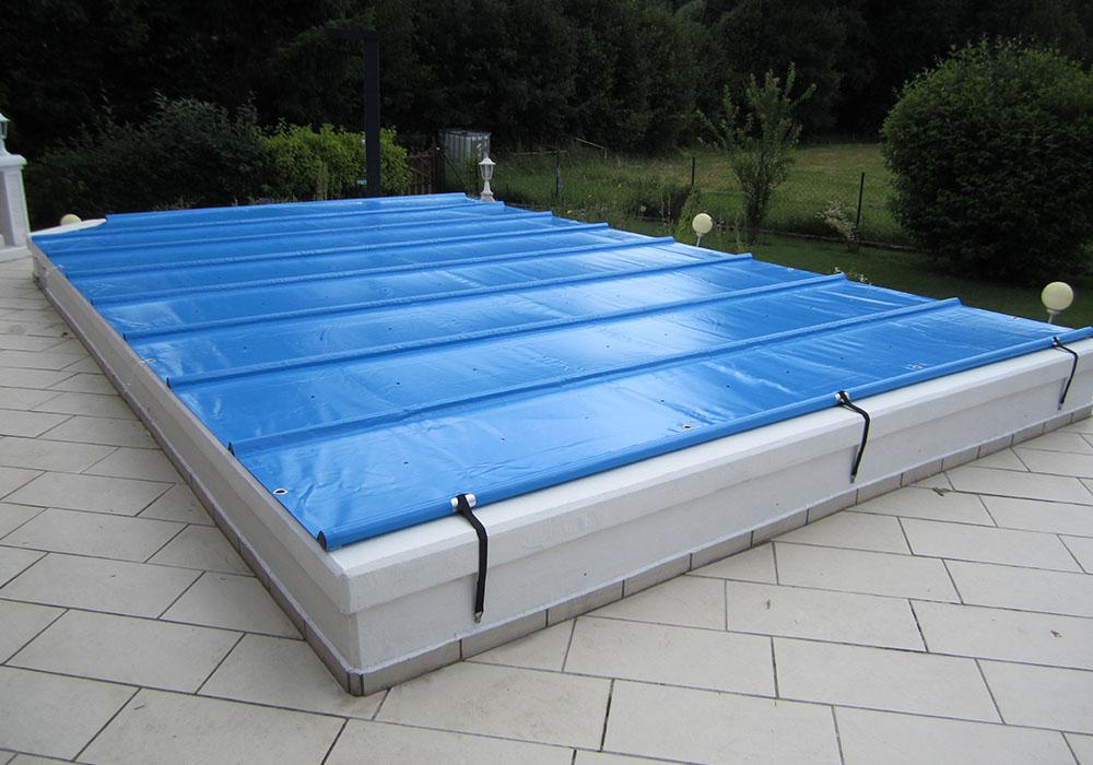 witterungsstabile winter abdeckung f r ihren pool. Black Bedroom Furniture Sets. Home Design Ideas